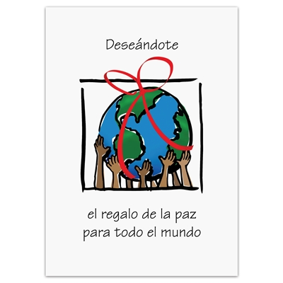 Gift of Peace Spanish Holiday Cards