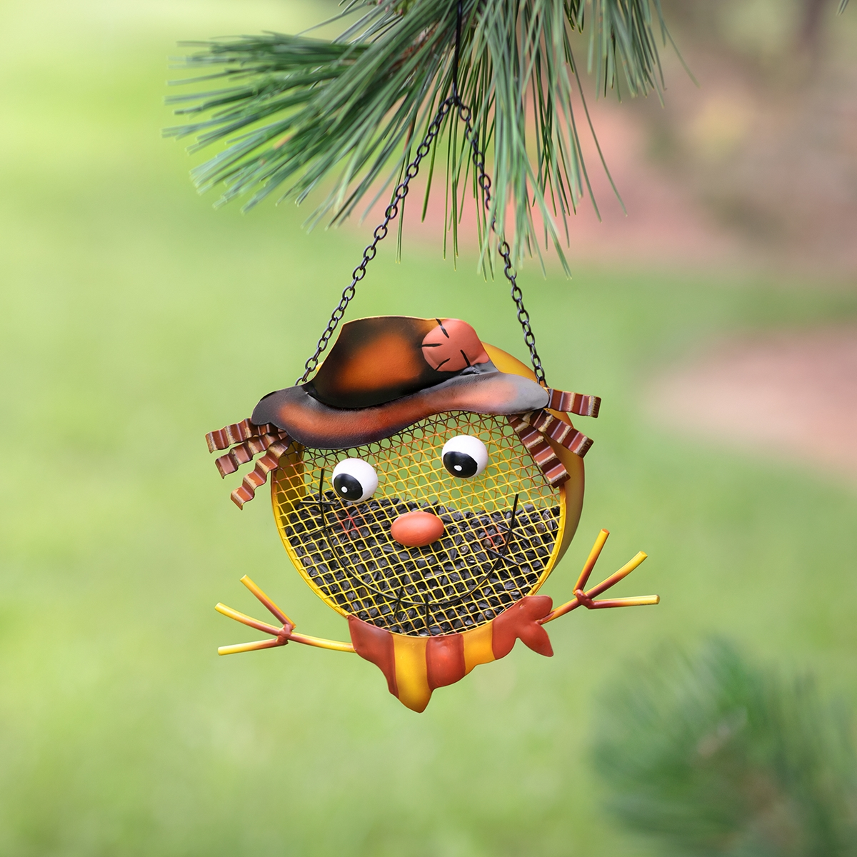 Scarecrow Bird Feeder