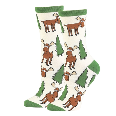 Moose Hug Socks