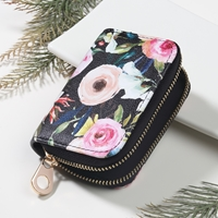 Floral Keychain Wallet