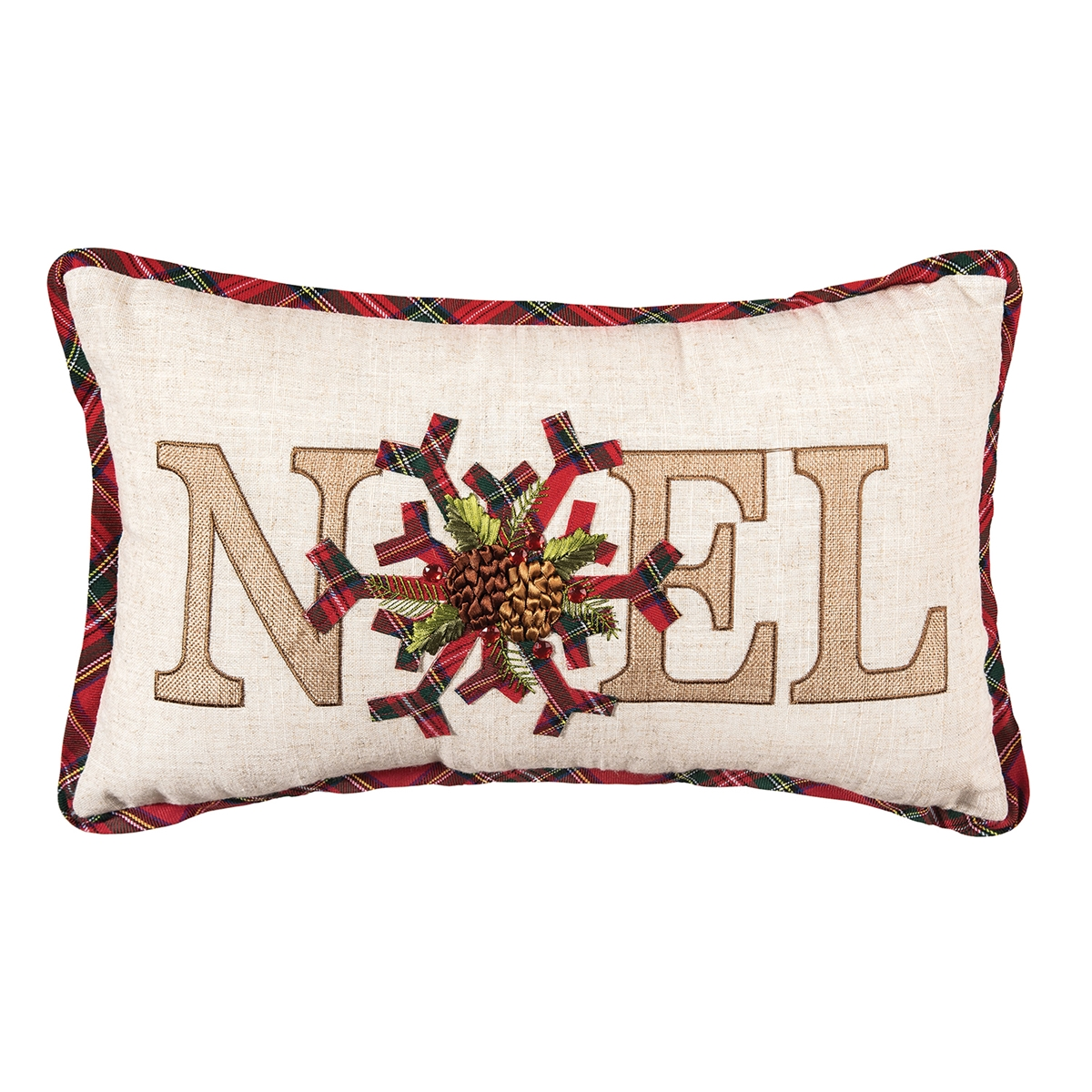 Noel Holiday Pillow