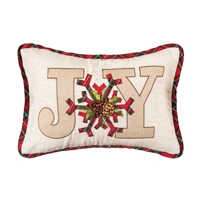Joy Holiday Pillow
