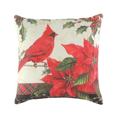 Christmas Cardinals Pillow