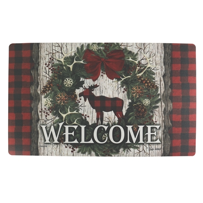 Woodland Christmas Mat