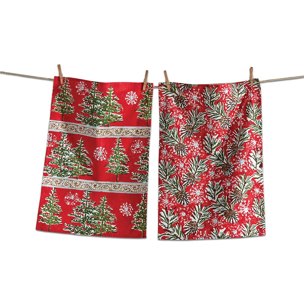 Tis the Season Kitchen Towel Set