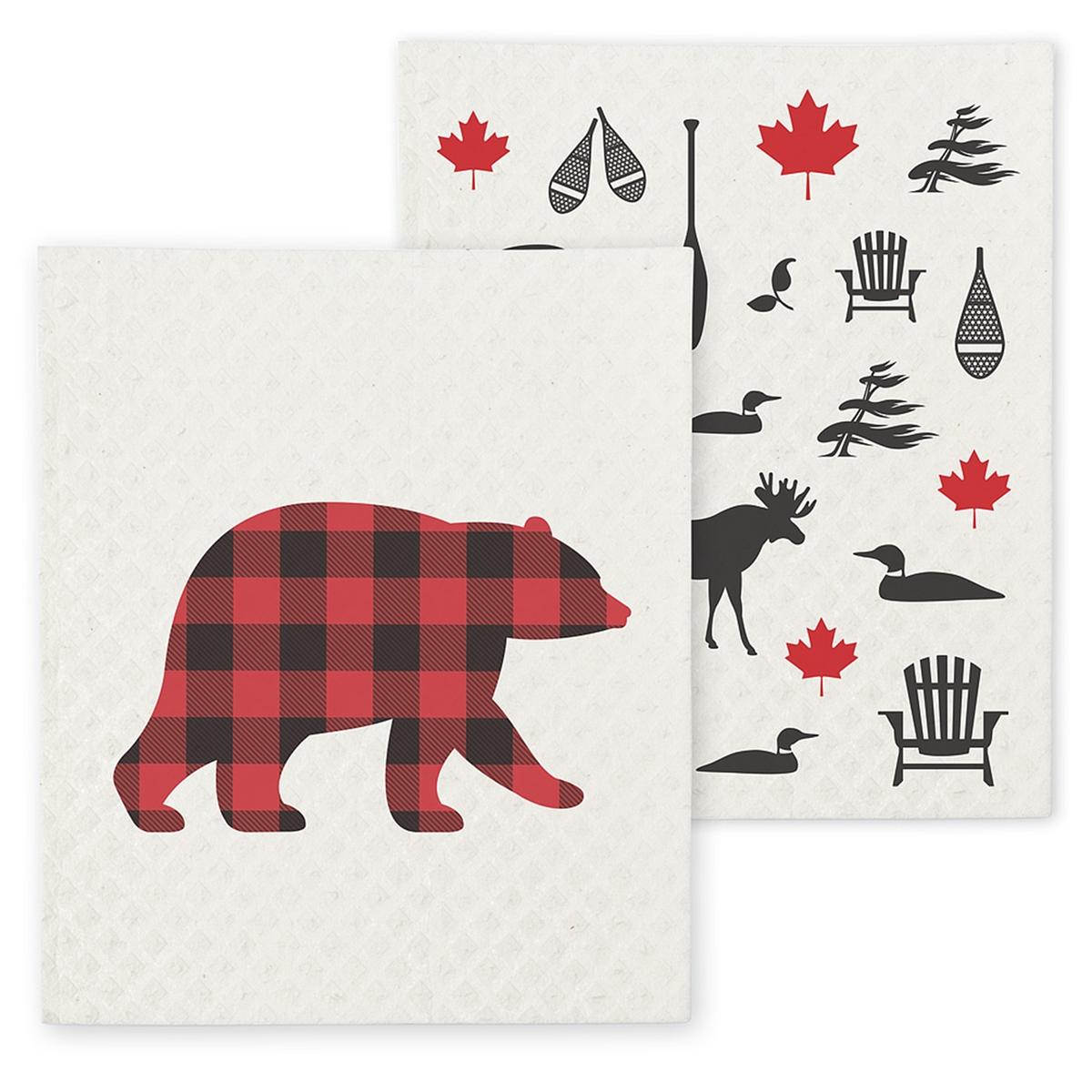 Bear Dish Cloth Set