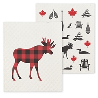 Moose Dish Cloth Set
