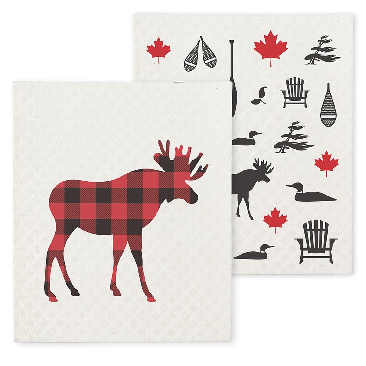 Moose Dish Cloth Set