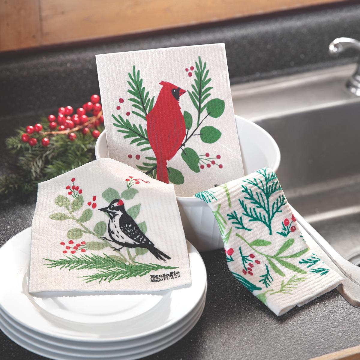 Holiday Dish Cloth Set