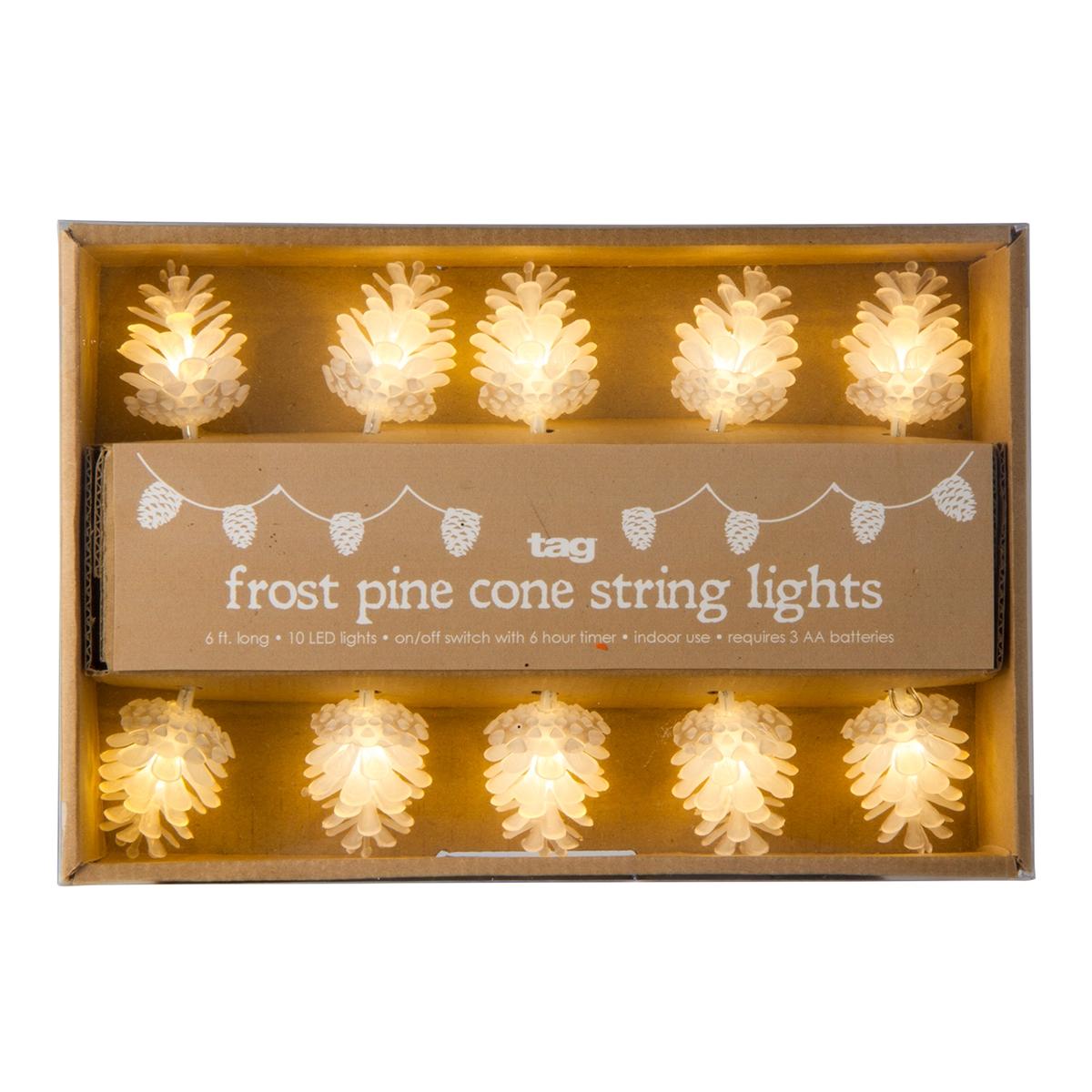 Pinecone String Lights