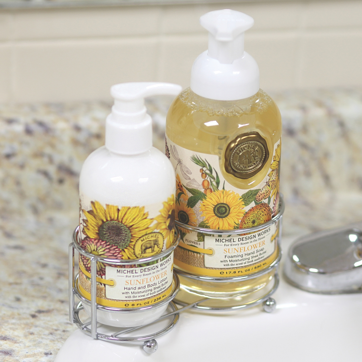 Sunflowers Handcare Caddy