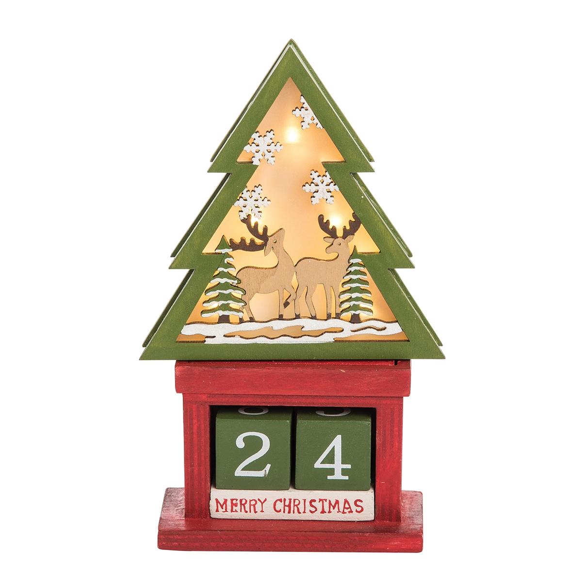 LED Christmas Tree Calendar