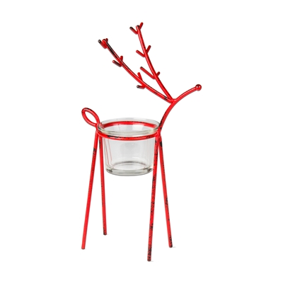 Reindeer Tealight Holder Small