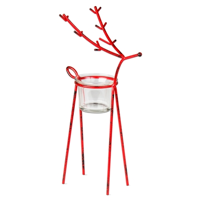 Reindeer Tealight Holder Medium