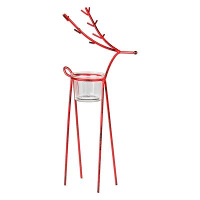 Reindeer Tealight Holder Large