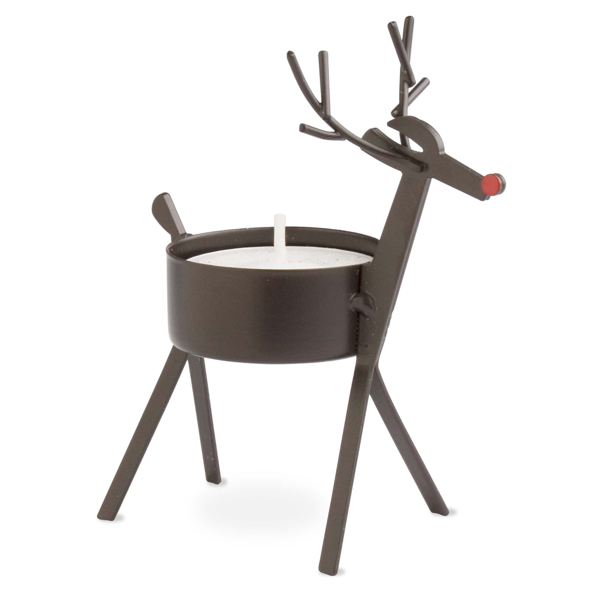 Bronze Reindeer Tealight Holder