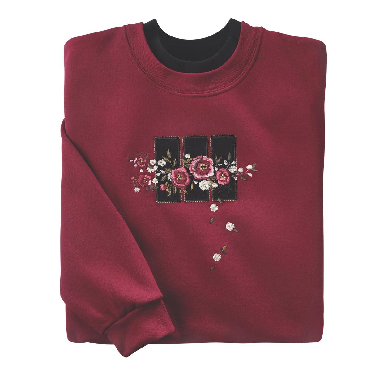 Velvet Rose Pullover