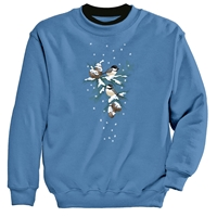 Chickadees and Pinecones Pullover