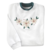 Poinsettia Pullover