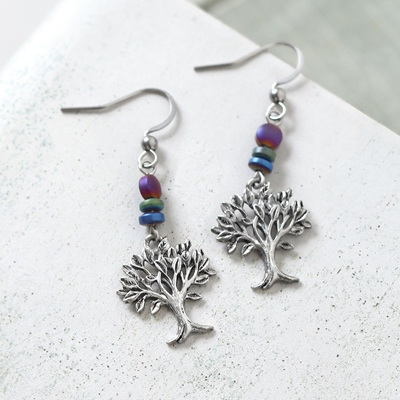 2020 Trees for Wildlife Earrings