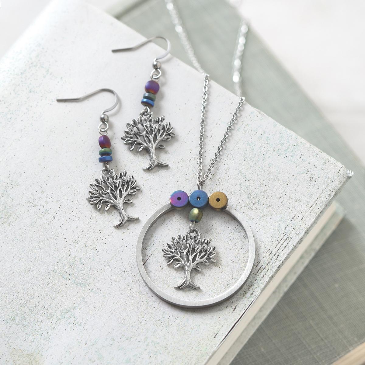 2020 Trees for Wildlife Jewelry Set
