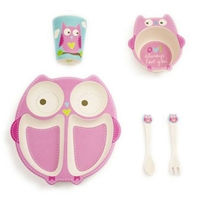 Olivia the Owl Dinner Set