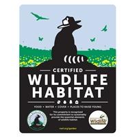 Mississippi Wildlife Federation Certified Wildlife Habitat Sign