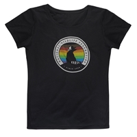 NWF Pride Striped Tee (Contoured cut)
