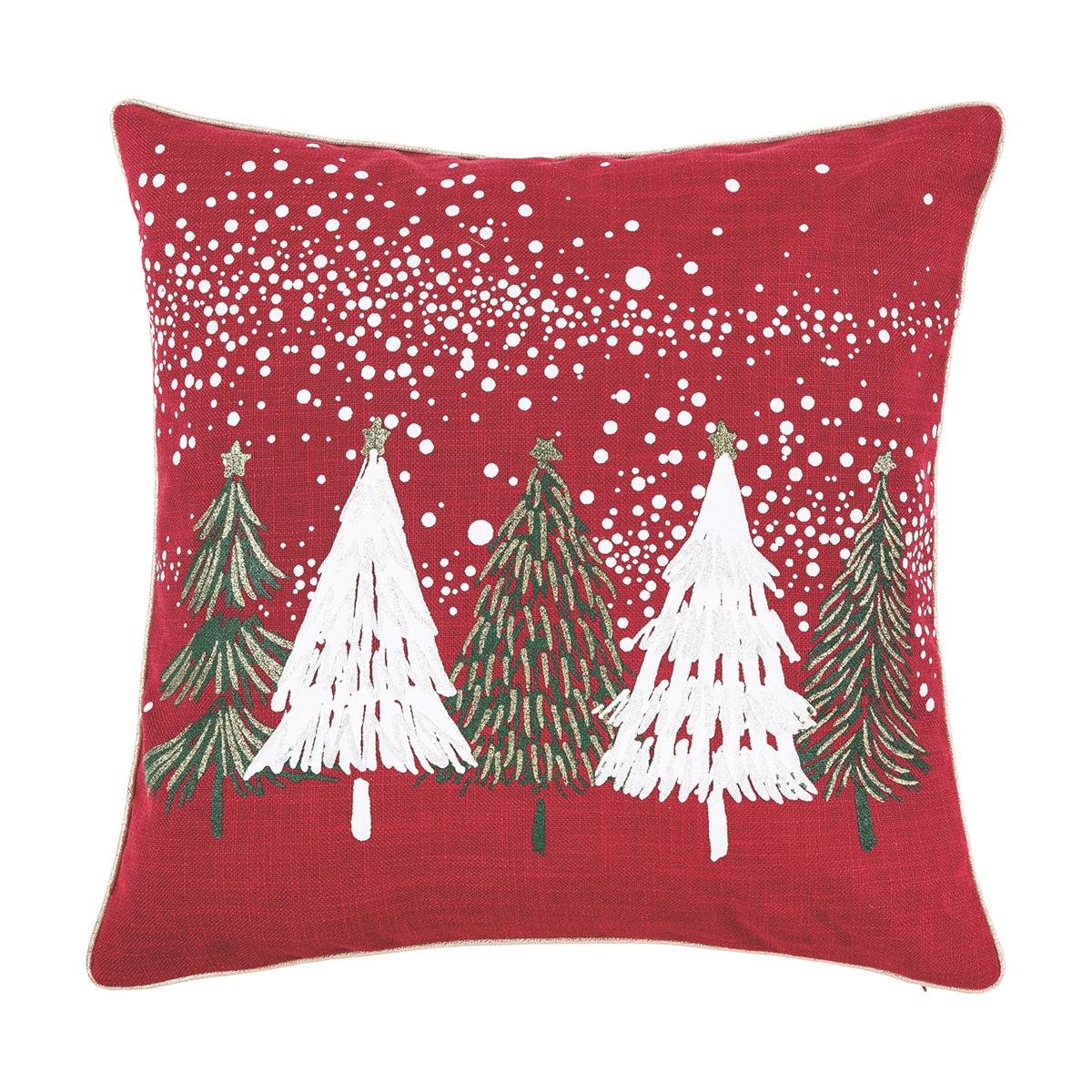 Snowy Trees Pillow