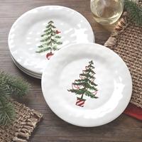 Pine Tree Snack Plates