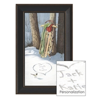 Sleigh Personalized Art Print