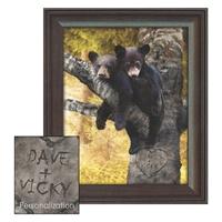 Bears Personalized Art Print