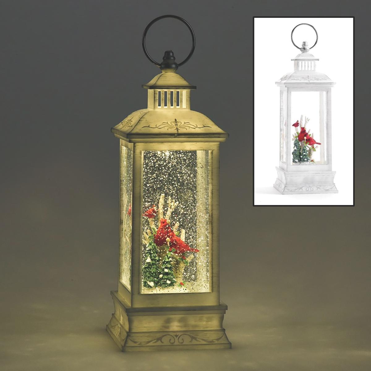 Cardinal LED Water Globe