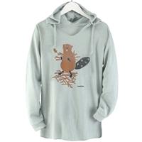 Beaver Hooded Pullover