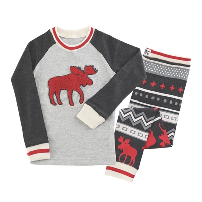 Moose Collection Kids Pajamas