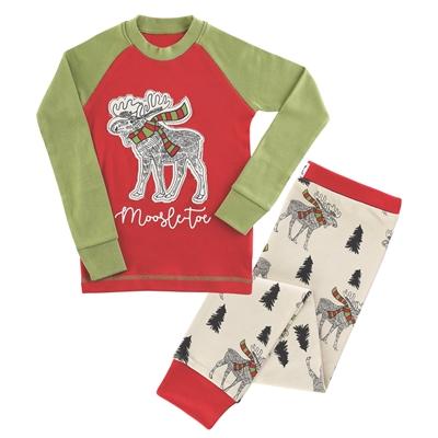 Moosletoe Kids Pajamas