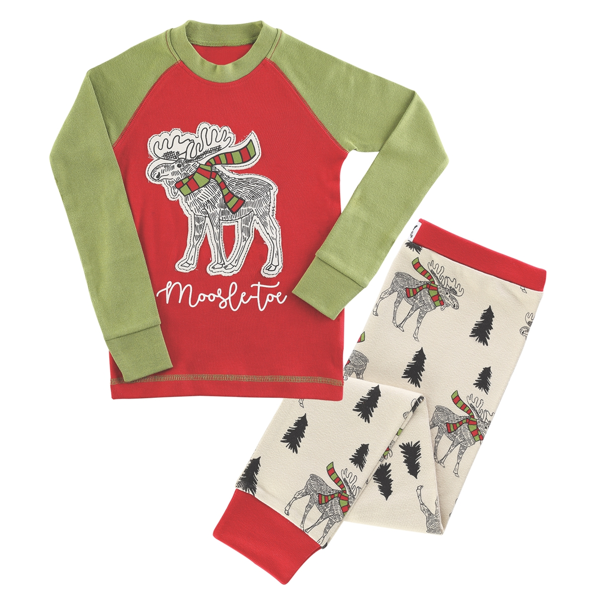 Moosletoe Kids Pajamas