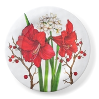 Amaryllis Dinner Plate Set