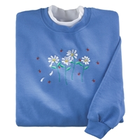 Daisies Delight Pullover