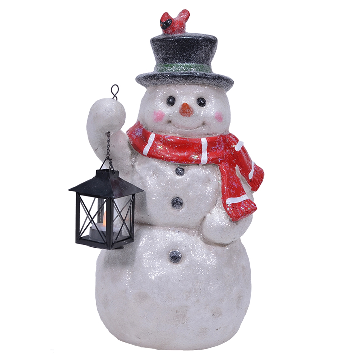 Sparkle Snowman Door Greeter