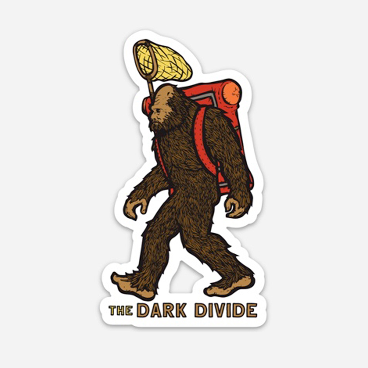 Dark Divide Bigfoot Sticker