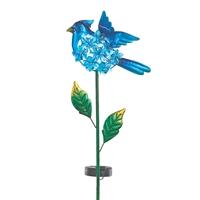 Bluebird Solar Garden Stake