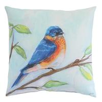 Bluebird Pillow