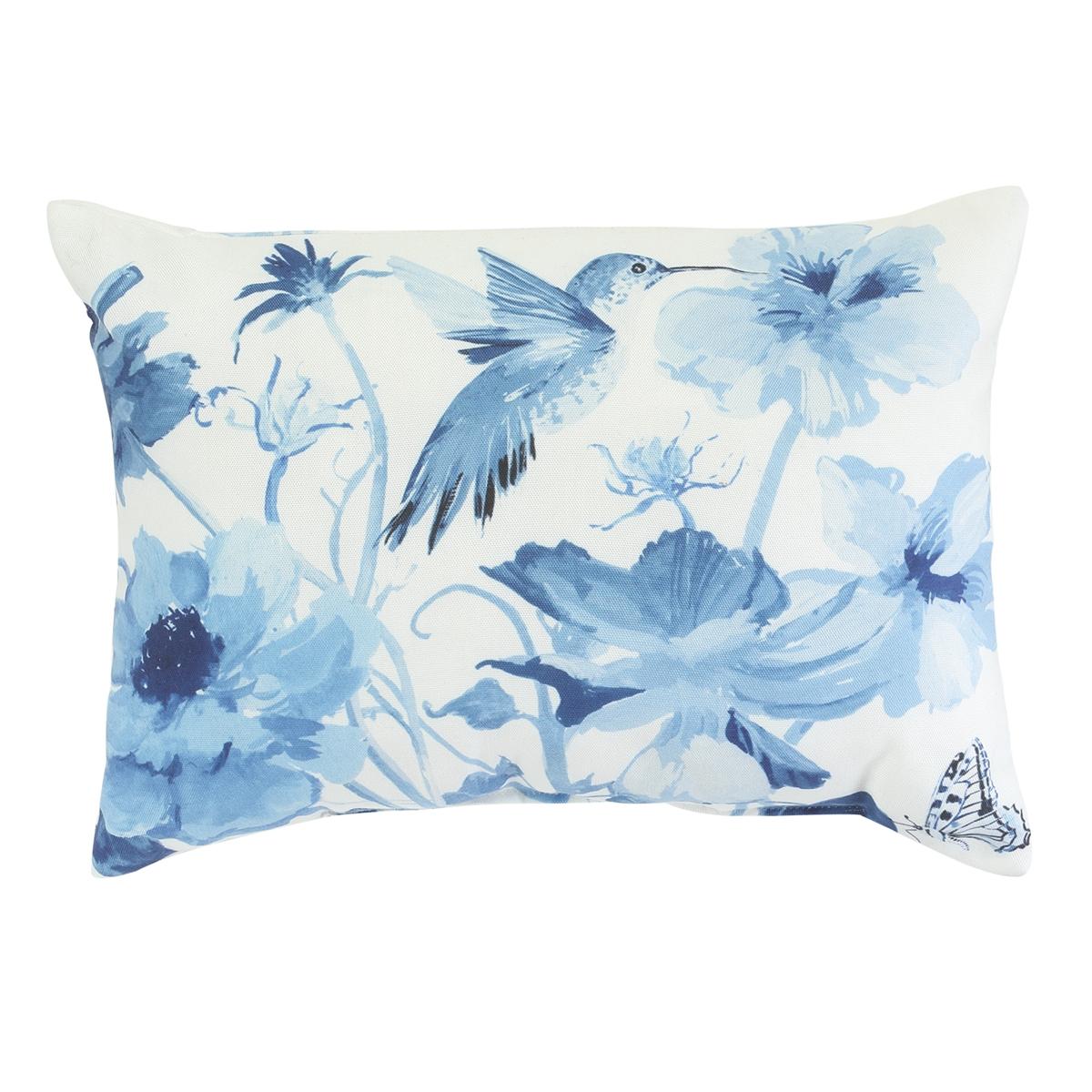 Hummingbird Garden Pillow