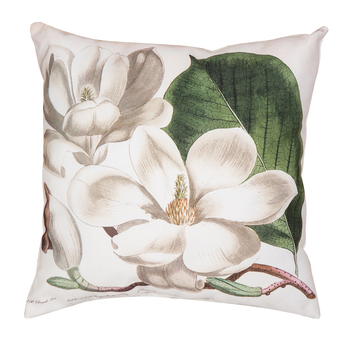 Magnolia Garden Pillow