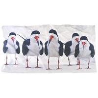 Black Skimmer Beach Towels