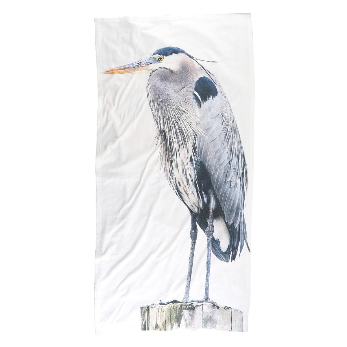 Blue Heron Beach Towels
