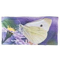 Cabbage Eater Moth Beach Towel