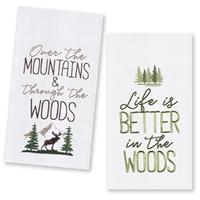 The Woods Kitchen Towel Set