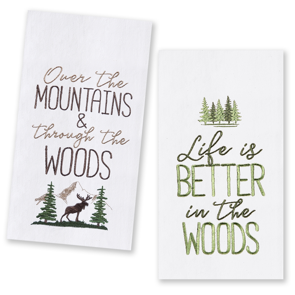 The Woods Kitchen Towel Set